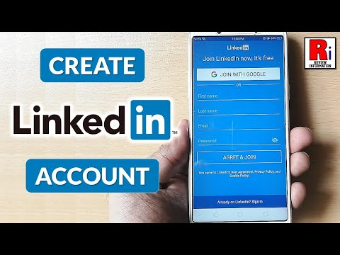How to Create Linkedin Account from Android Devices