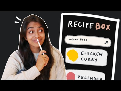 Designing A Mobile App to Store My Recipes