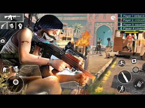 Suicide Squad Free Fire Team Shooter 2021 - walkthrough gameplay.