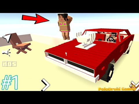 Blocky Car Racer #1 City Mod exploration - Android GamePlay FHD