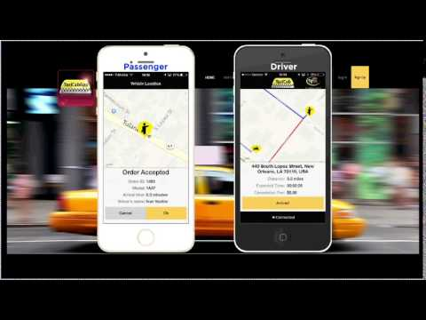 Taxi Cab App: How it works
