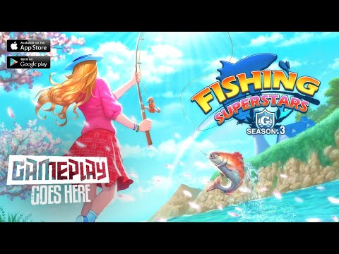 Fishing Superstars   Gameplay Android & iOS [HD GRAPHIC]