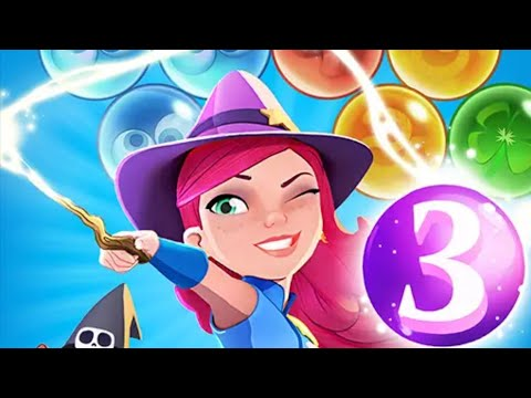 Bubble Witch 3 Saga - Android gameplay King Movie apps free kids best top TV Movie Games Teenagers