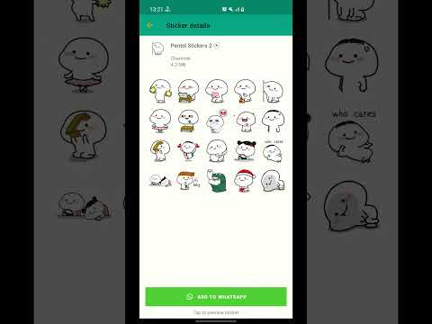 video review of Pentol Animated Stickers WAStickerApps