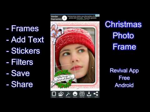 Christmas Photo Frame App Android