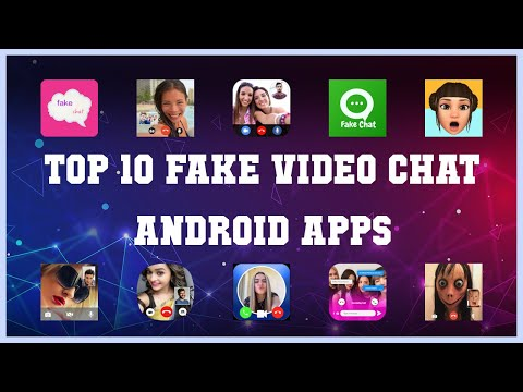 Top 10 Fake Video Chat Android App | Review