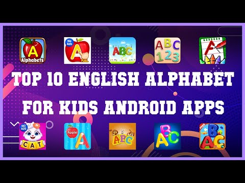 Top 10 English Alphabet for Kids Android App | Review