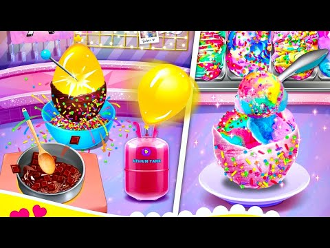 Unicorn Chef Cooking Games for Girls - Android Gameplay 1080p