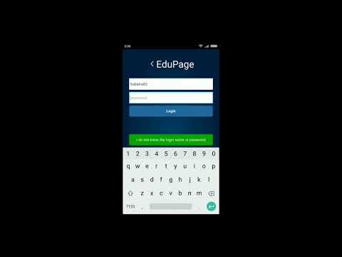 aScTimetables Training - Downloading Edupage in Android Smart Phone