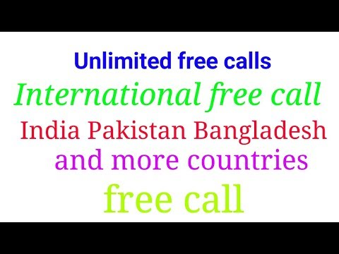 How to Make unlimited international free call world-wide without number 2017 latest application