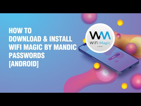 Download and install WiFi Magic by Mandic Passwords APK on android phone