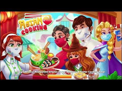 Asian Cooking Games Star New Restaurant Games Chef | Full Android Gameplay | By Fun Games for Girls