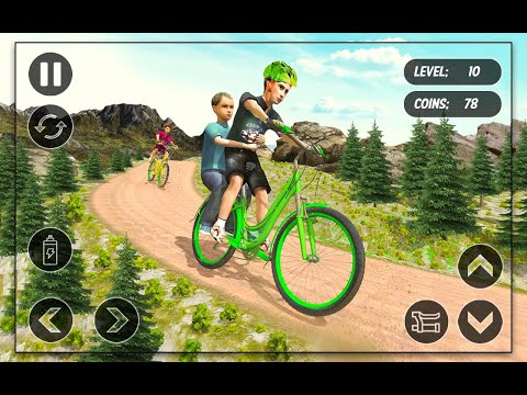 BMX Cycle Race - Mountain Bicycle Stunt Rider || Sports Gameplay Walkthrough By Android Gaming