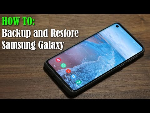 How to Backup and Restore your Samsung Smartphone (Contacts, Messages, Settings, etc)