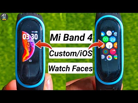 Mi Band 4 Custom Watch Face | Mi Band 4 ios Watch Faces | How To Change Mi Band 4 Watch Faces