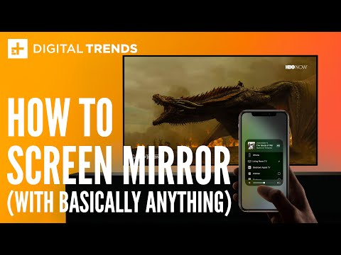 How to Screen Cast and Mirror a Phone to TV
