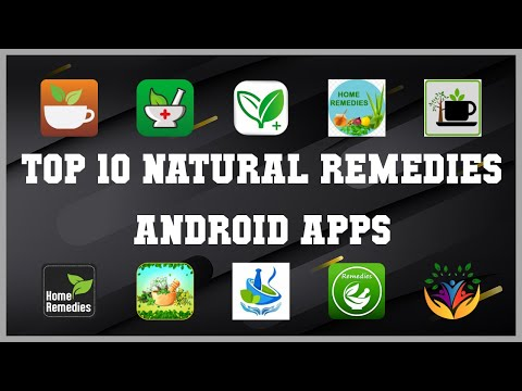 Top 10 natural remedies Android App | Review