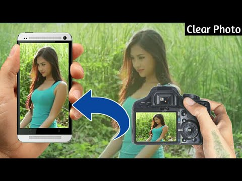 how to Make Your Mobile Camera Like DSLR   You Can Use Like DSLR Blur in your Android