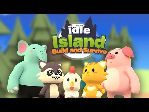 Idle Island: Build and Survive Gameplay | Android Simulation Game