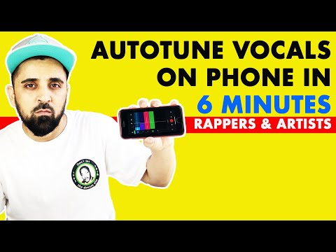 How To Autotune Vocals On Phone   Android & iPhone Free App   In Hindi