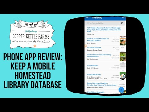 Phone App Review: My Library App for Home Libraries to keep your books in one database