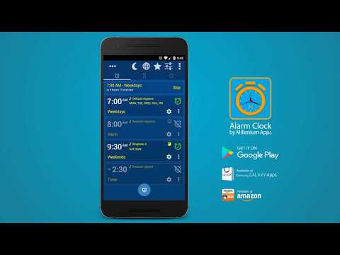 video review of Alarm Clock & Timer & Stopwatch Free