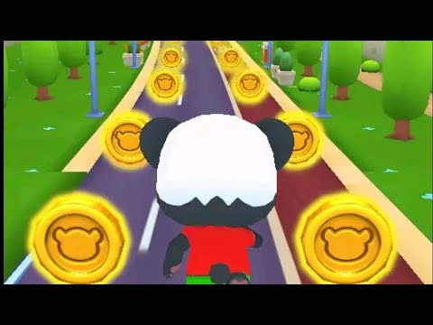 Panda Panda Run Game | Panda Panda Run Android Gameplay | New Racing Game | New Pet Panda Run Game
