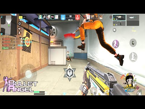 Bullet Angel: Xshoot Mission M (Android) Gameplay