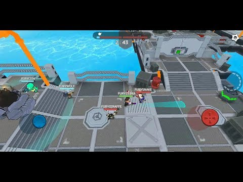 Fury Wars (by Full HP Ltd) - shooting game for Android and iOS - gameplay.