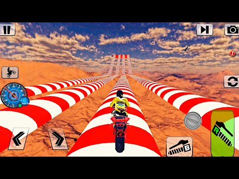 Bike Impossible Tracks Race: 3D Motorcycle Stunts | Android GamePlay