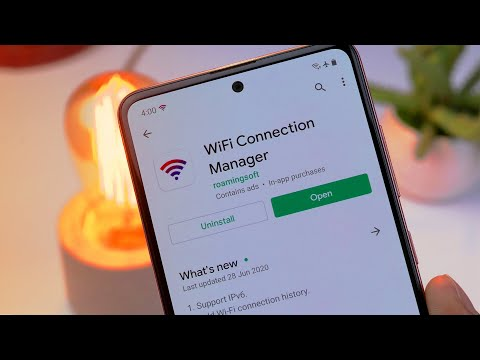 WiFi Connection Manager - WiFi Apps Review