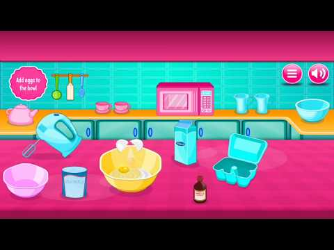 Fun Cooking Games - Sweet Cookies | Food Recipes - Cooking For Kids HD