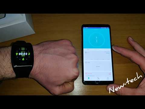 How to connect LEMFO V2 with H Band android apps in smartphone LEMFO T11 Smartband Brace