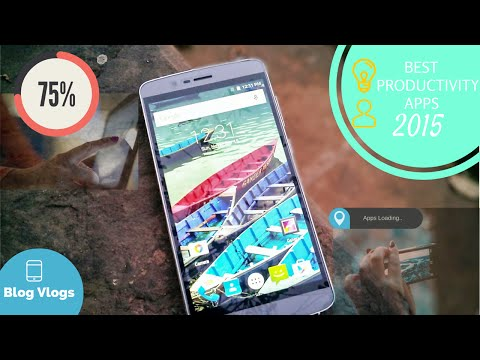 Best Productivity Apps For Android 2015 [what's on my phone]