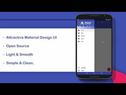 video review of Amaze File Manager