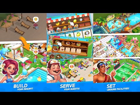 My Little Paradise : Resort Management Game Android Gameplay