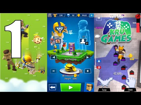 Climbing Stars Gameplay Walkthrough #1 (Android, IOS)