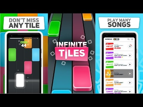 INFINITE TILES - Be Fast! Android Gameplay