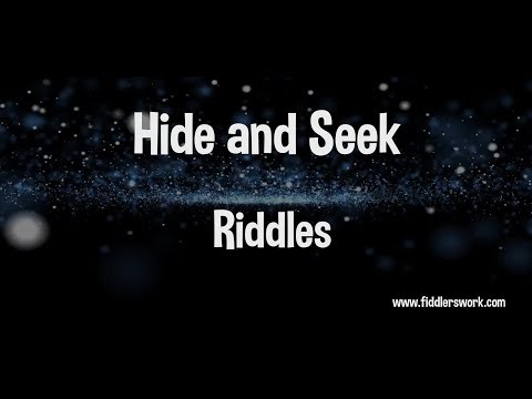video review of Hide And Seek Riddles