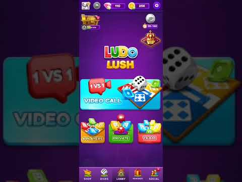 Lush Ludo with video calls & chat