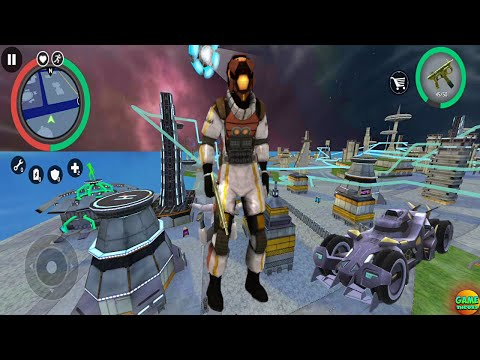 New Update Space Gangster 2 / New Futuristic City Naxeex World Game