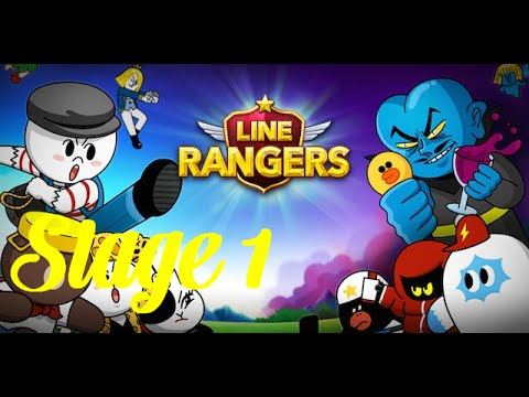 LINE Rangers Android Gameplay Walkthought Stage 1