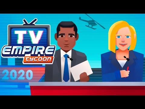 TV Empire Tycoon - Idle Management Game Gameplay | Android Simulation Game