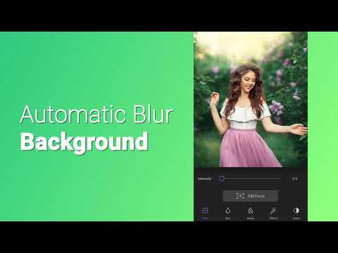 video review of Blur Photo Editor