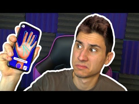 AN APP PREDICTED MY FUTURE! | Fortune Telling App