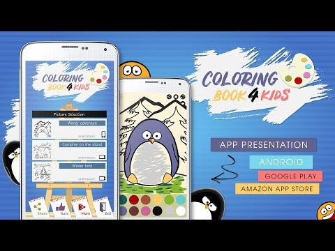 😊 Coloring Book For Kids - Android App Development Without Coding [ Adobe AIR, Animate ] ᴴᴰ
