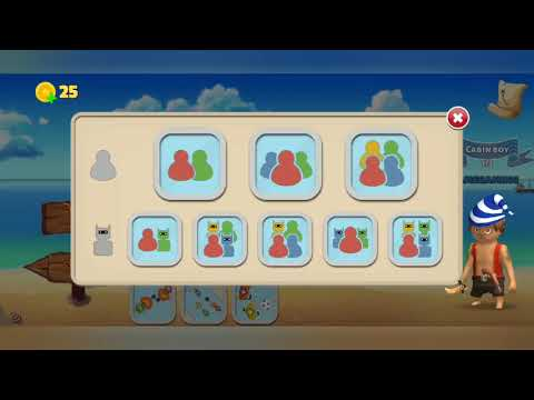 Pirates party 4player  gameplay (Pirates party)