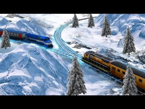 Train Racing Games 3D 2 Player // Android Gameplay FHD // Digital Star Gaming