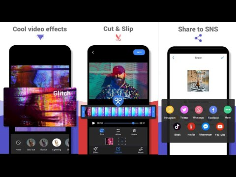 How to Use Cool Video Editor -Video Maker,Video Effect,Filter Android 2021