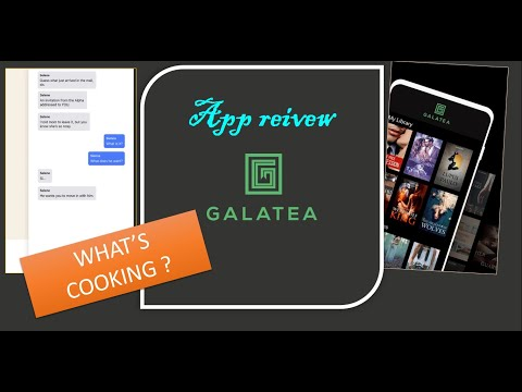 Galatea app review /Inkitt/kind of asmr in high volume/ Please increase volume while watching 😂
